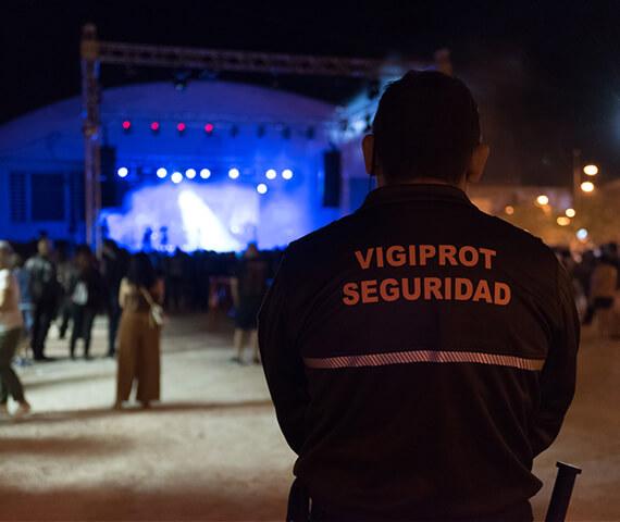 Dispositivos de seguridad para los principales conciertos de toda la zona de Levante, Vigiprot