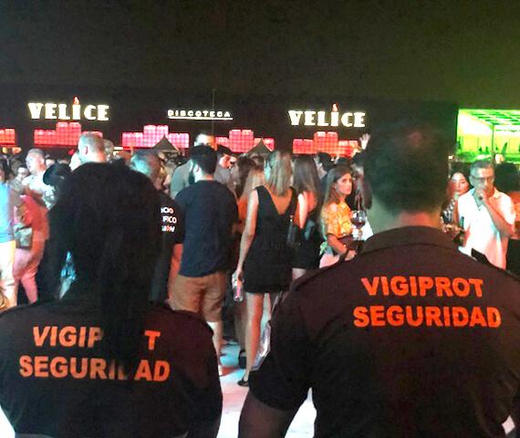Seguridad en discotecas, Vigiprot